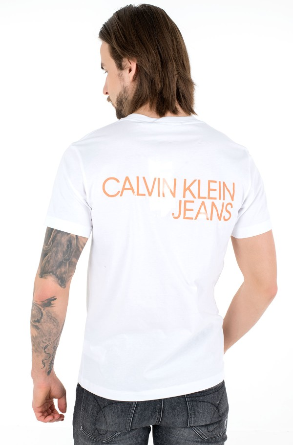 CK MONOGRAM CLEAR PRINT TEE-hover