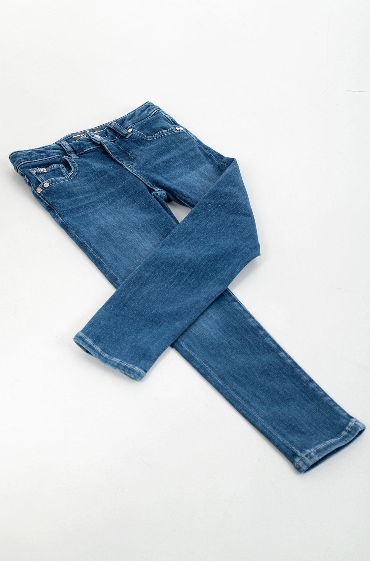 Vaikiškos džinsinės kelnės K1RA08 D4AK0-full-2