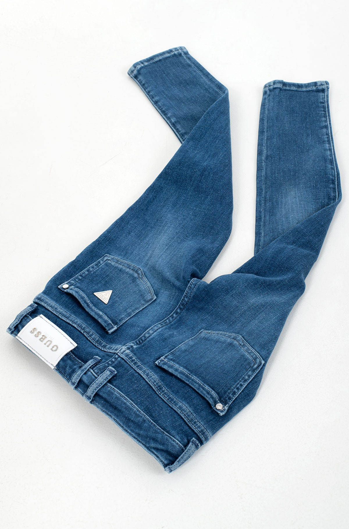 Vaikiškos džinsinės kelnės K1RA08 D4AK0-full-4