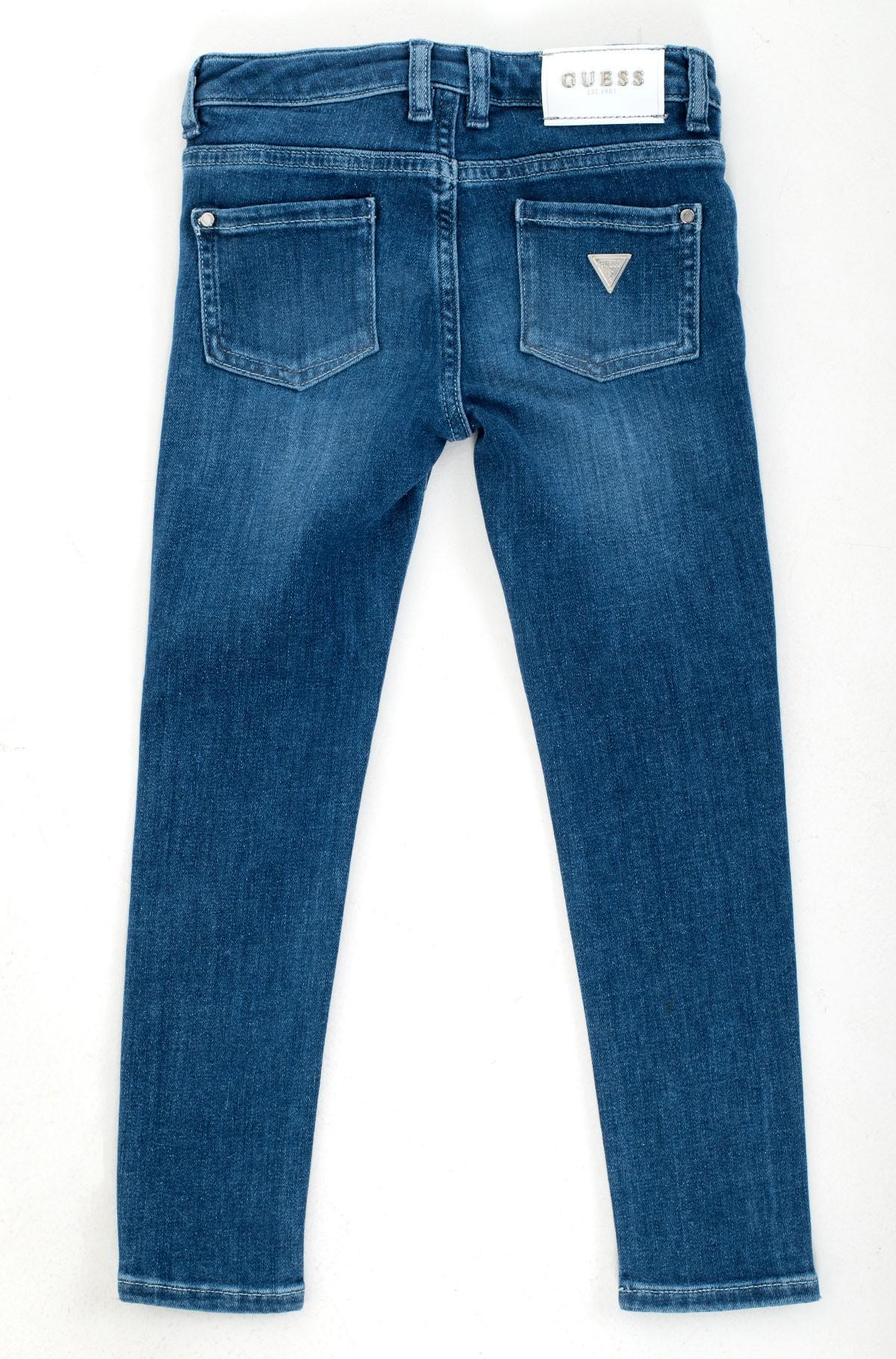 Vaikiškos džinsinės kelnės K1RA08 D4AK0-full-5