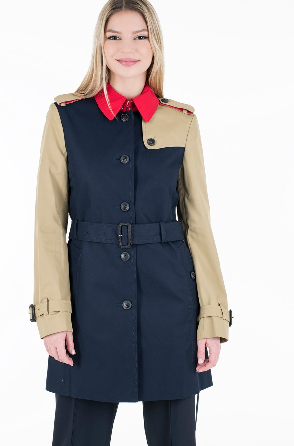 SB COTTON TRENCH-hover