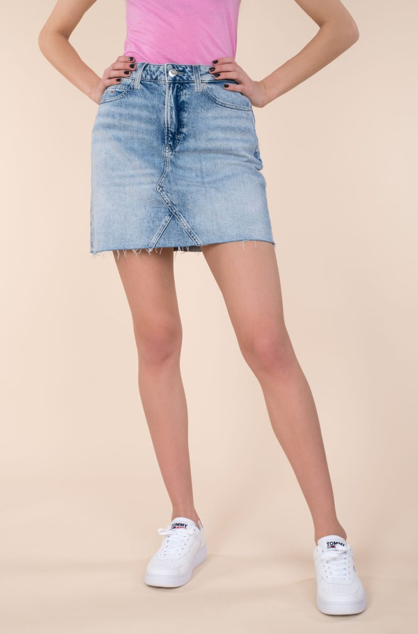 SHORT DENIM SKIRT ALBC-hover