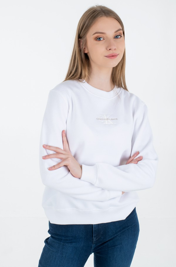 MONOGRAM LOGO CREW NECK
