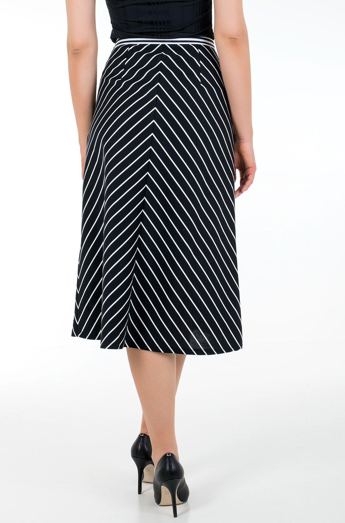 Skirt PINSTRIPE MILANO F&F MIDI SKIRT-full-2