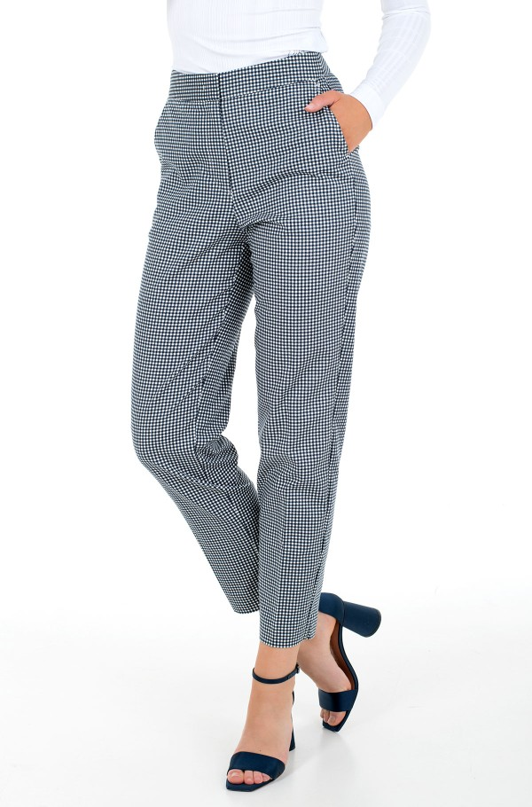 SLUB CO SLIM ANKLE PANT