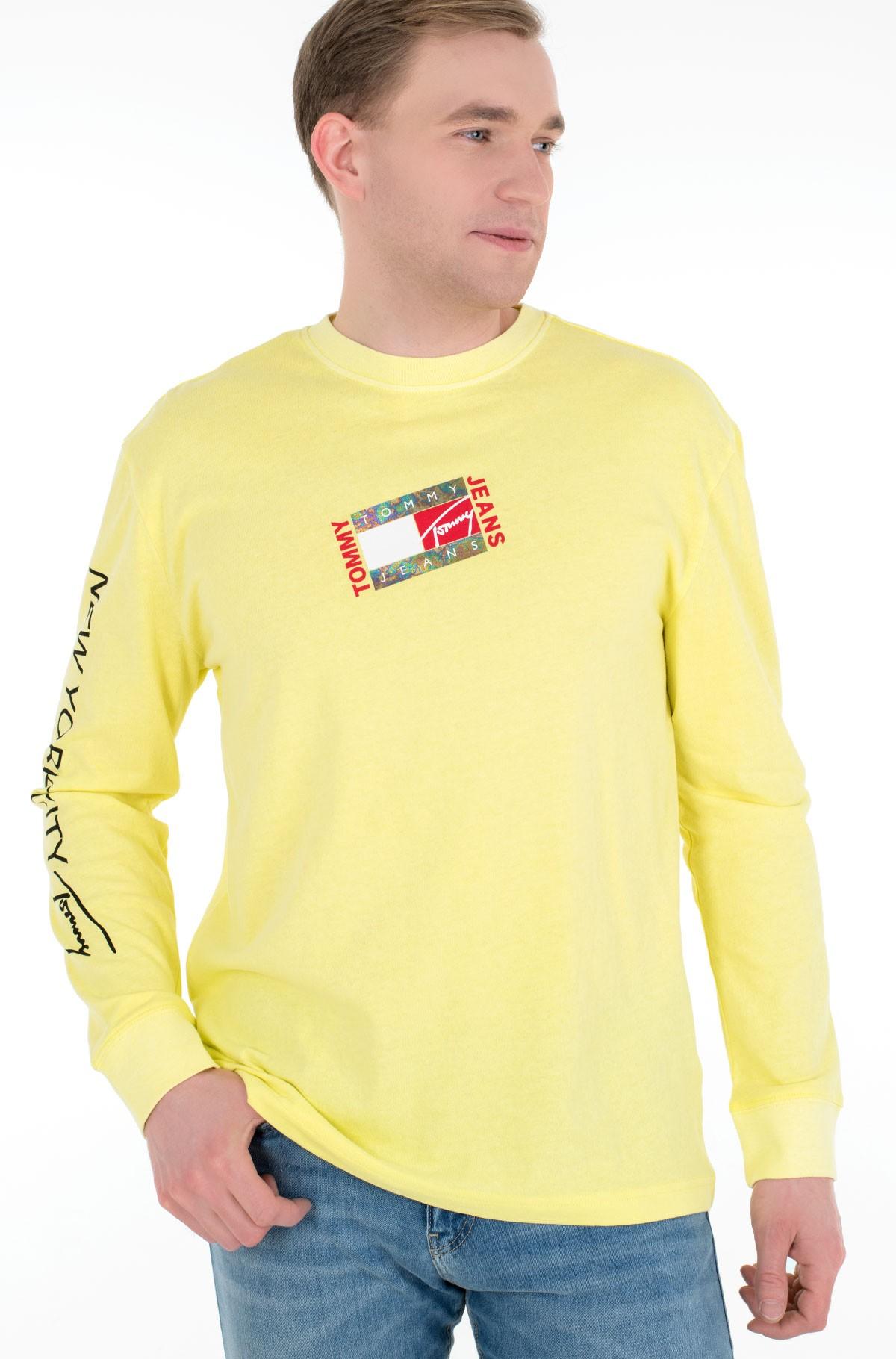 T-krekls ar garām piedurknēm  TJM SMALL FLAG BOX LOGO TEE-full-1