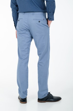 Suit trousers DENTON PRINTED STRUCTURE-2