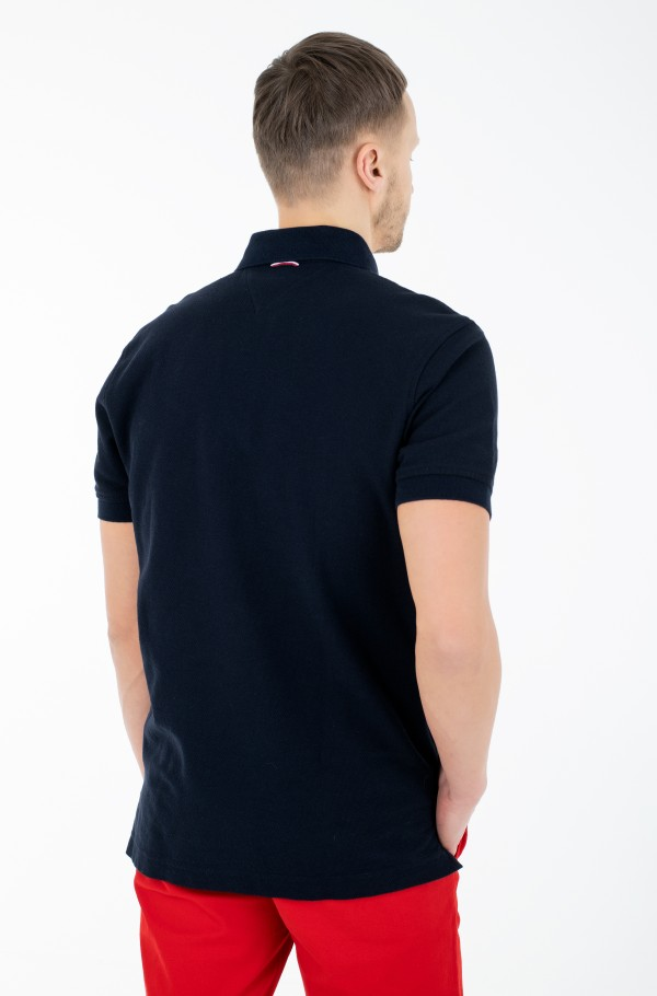 HONEYCOMB TEXTURED REGULAR POLO-hover