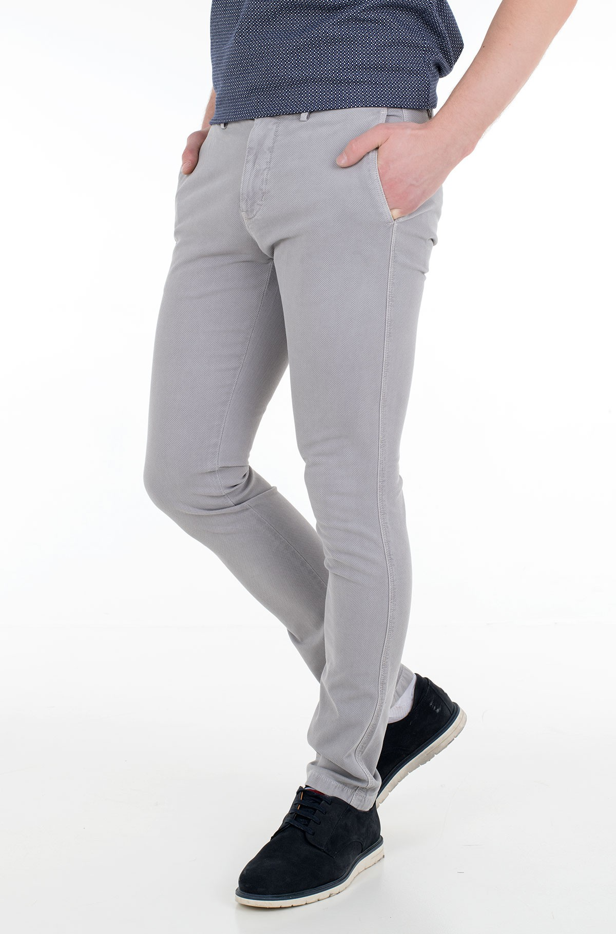Fabric trousers BLEECKER STRUCTURE GMD-full-1