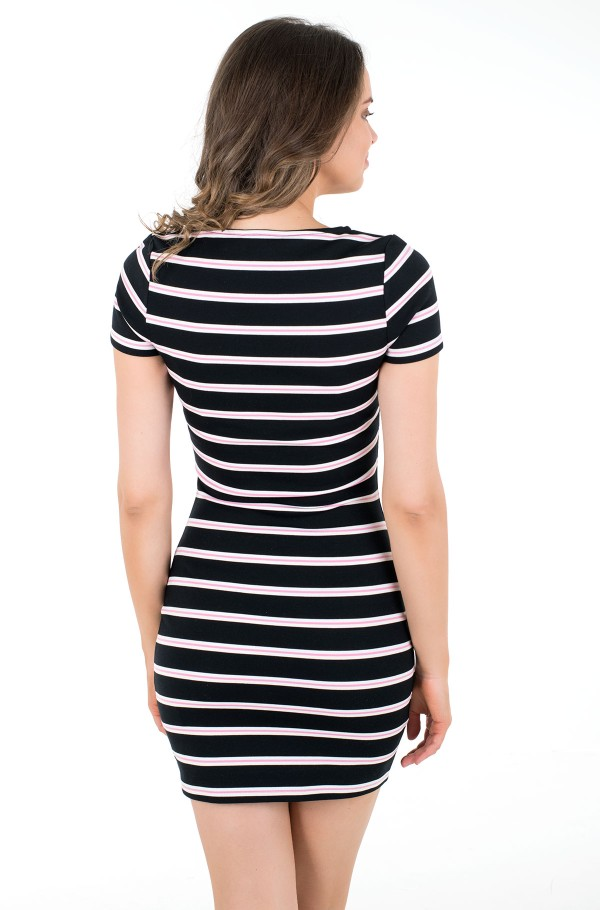 TJW STRIPED BODYCON DRESS-hover