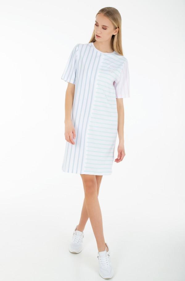 ICON CLR BLOCK SHIFT SHORT DRESS