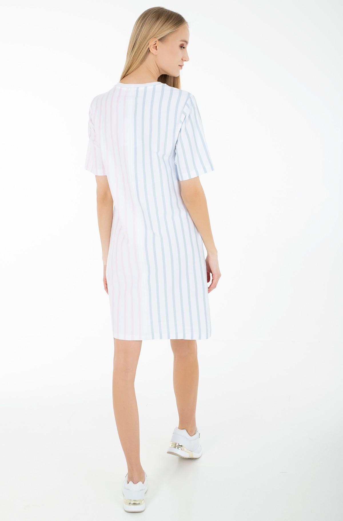 Dress ICON CLR BLOCK SHIFT SHORT DRESS-full-2