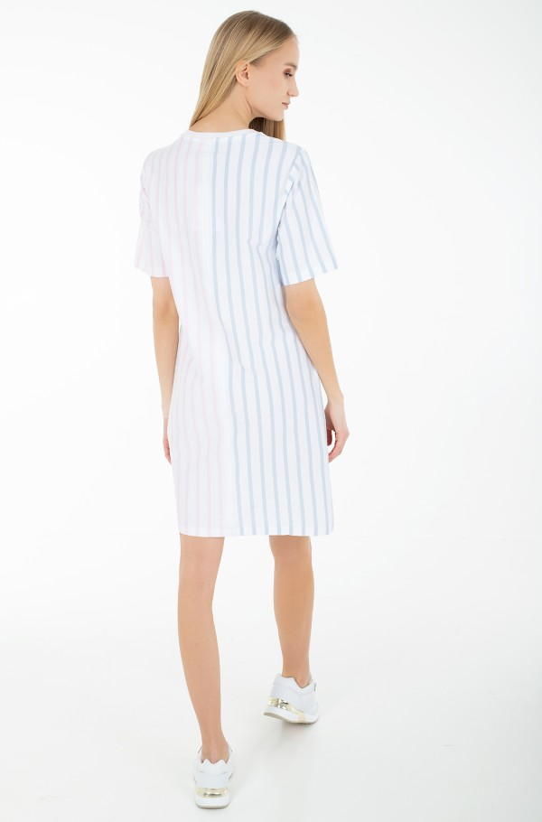 ICON CLR BLOCK SHIFT SHORT DRESS-hover
