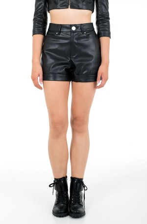 Leather shorts W1RD0H WAOO0-1