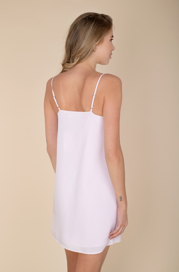 MONOGRAM CAMI TOP SLIP DRESS-hover