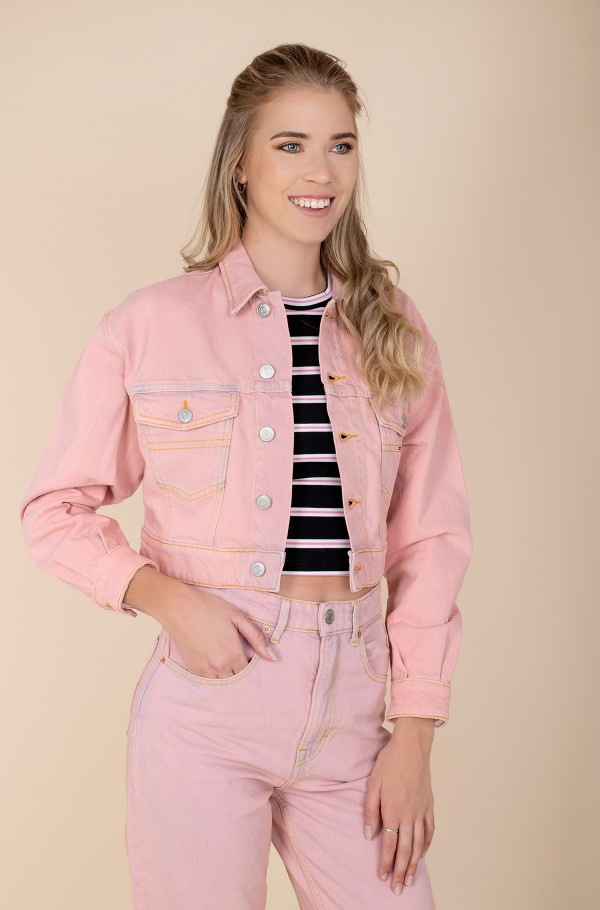 CROPPED TRUCKER JACKET PDC-hover