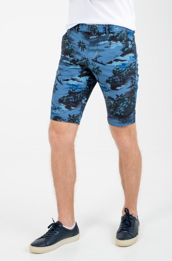 HMPTN AOP HAWAIIAN SHORT