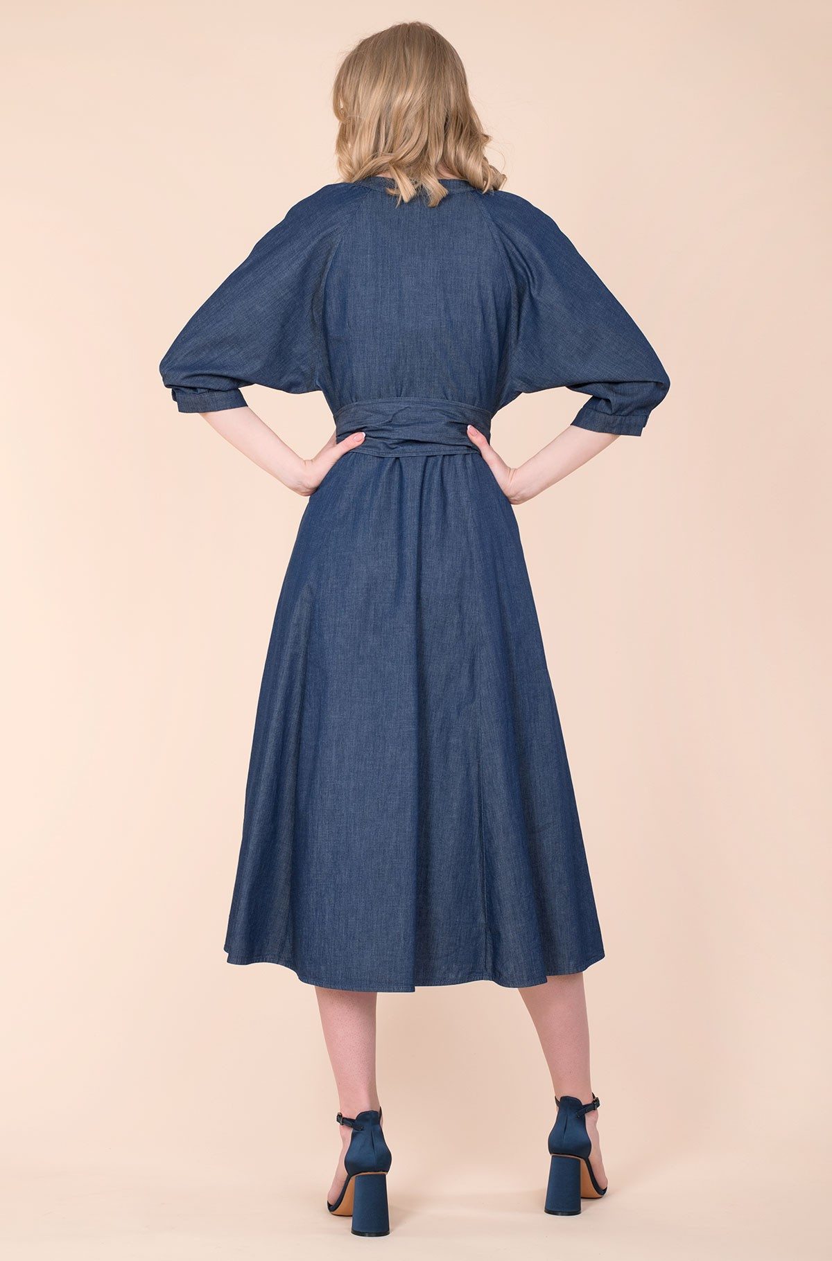 Midi dress LANGUIDO SS21-full-3