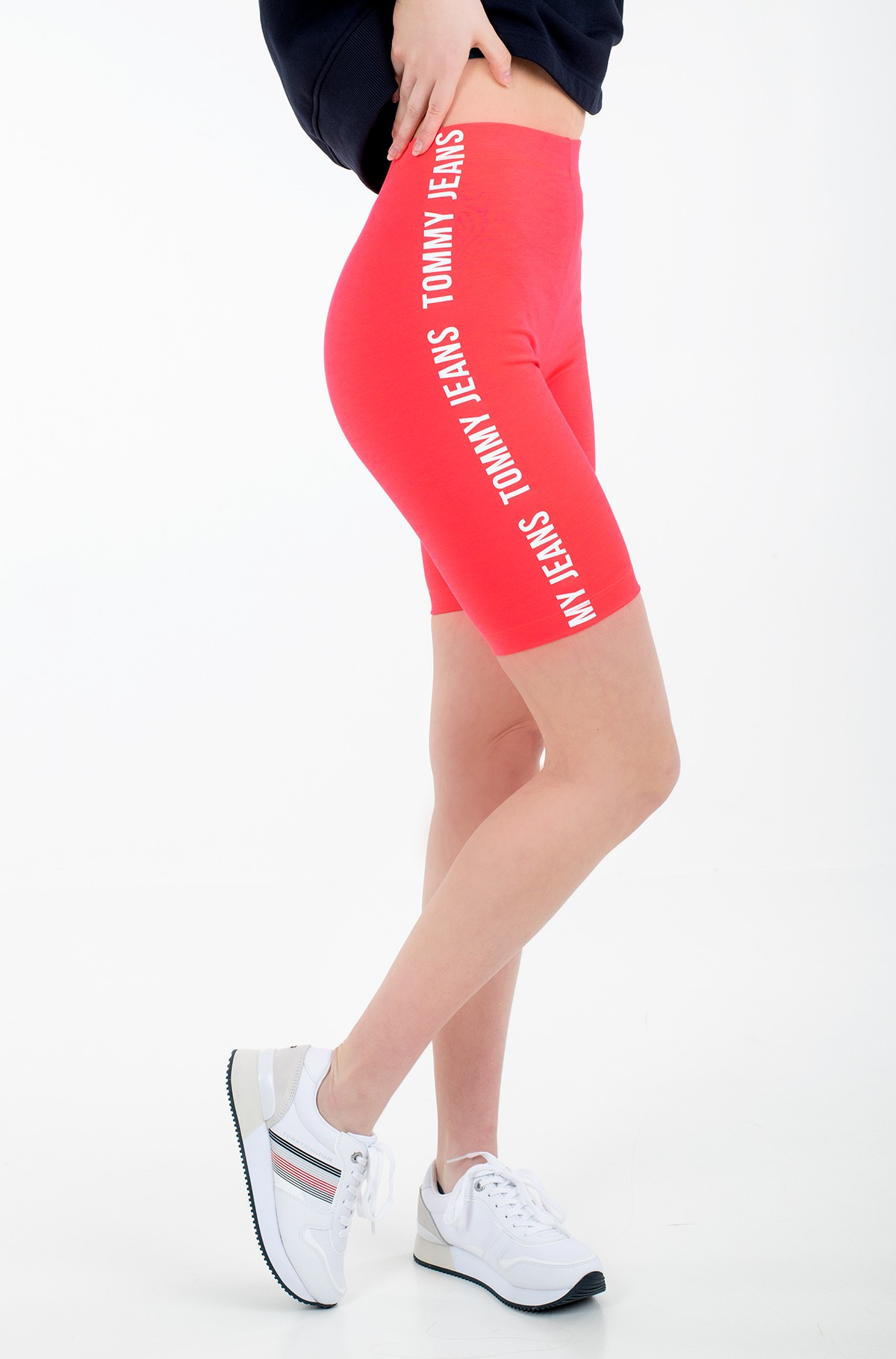 Lühikesed retuusid TJW FITTED BRANDED BIKE SHORT-full-1