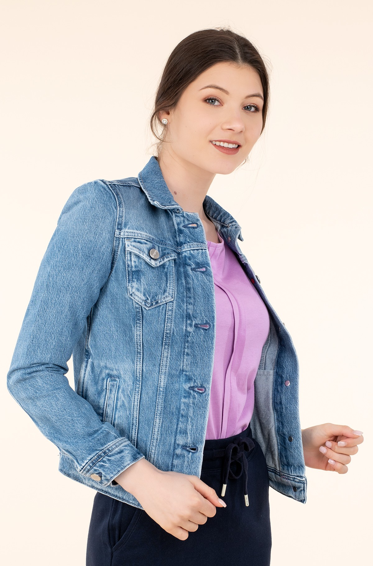 Denim jacket THRIFT/PL400755WI9-full-1