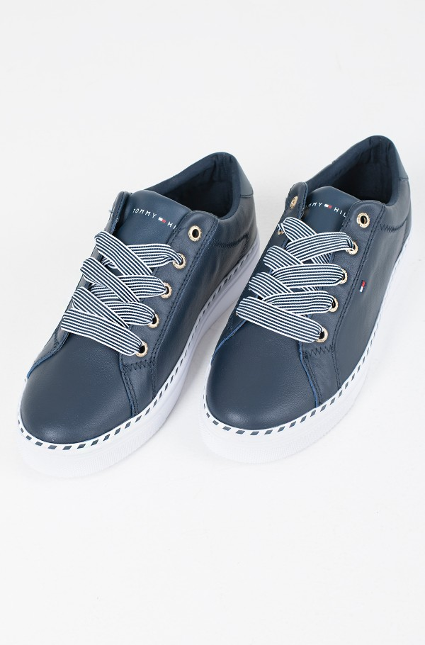 NAUTICAL LACE UP SNEAKER-hover