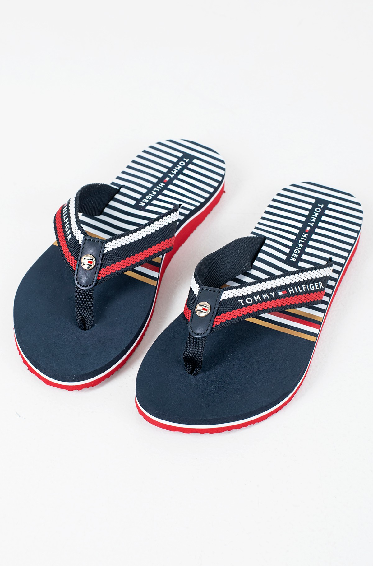 Plätud STRIPY FLAT BEACH SANDAL-full-2