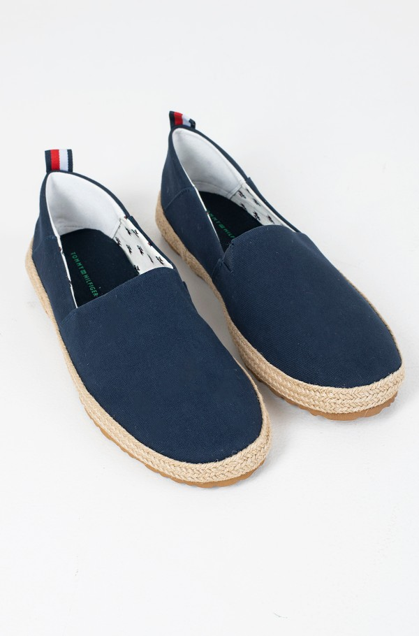 RECYCLED COTTON ESPADRILLE