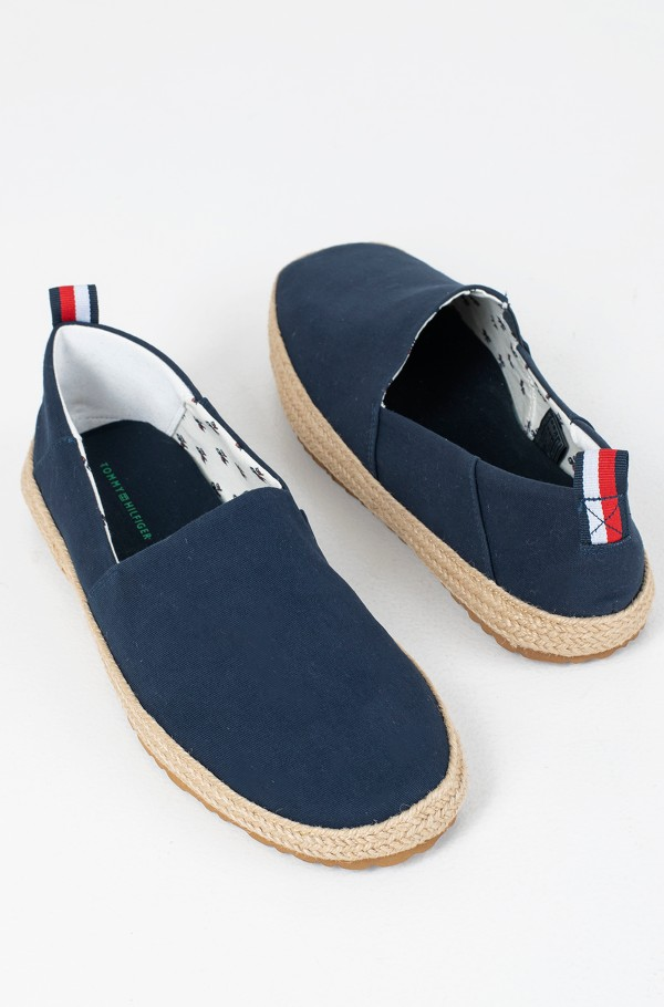 RECYCLED COTTON ESPADRILLE-hover