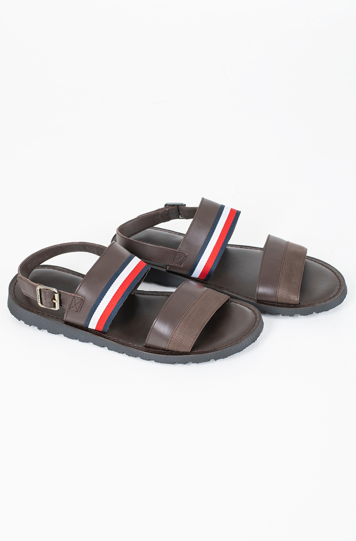 Sandaalid CORPORATE STRAP LEATHER SANDAL-full-1