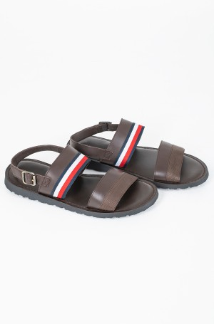 Sandaalid CORPORATE STRAP LEATHER SANDAL-1