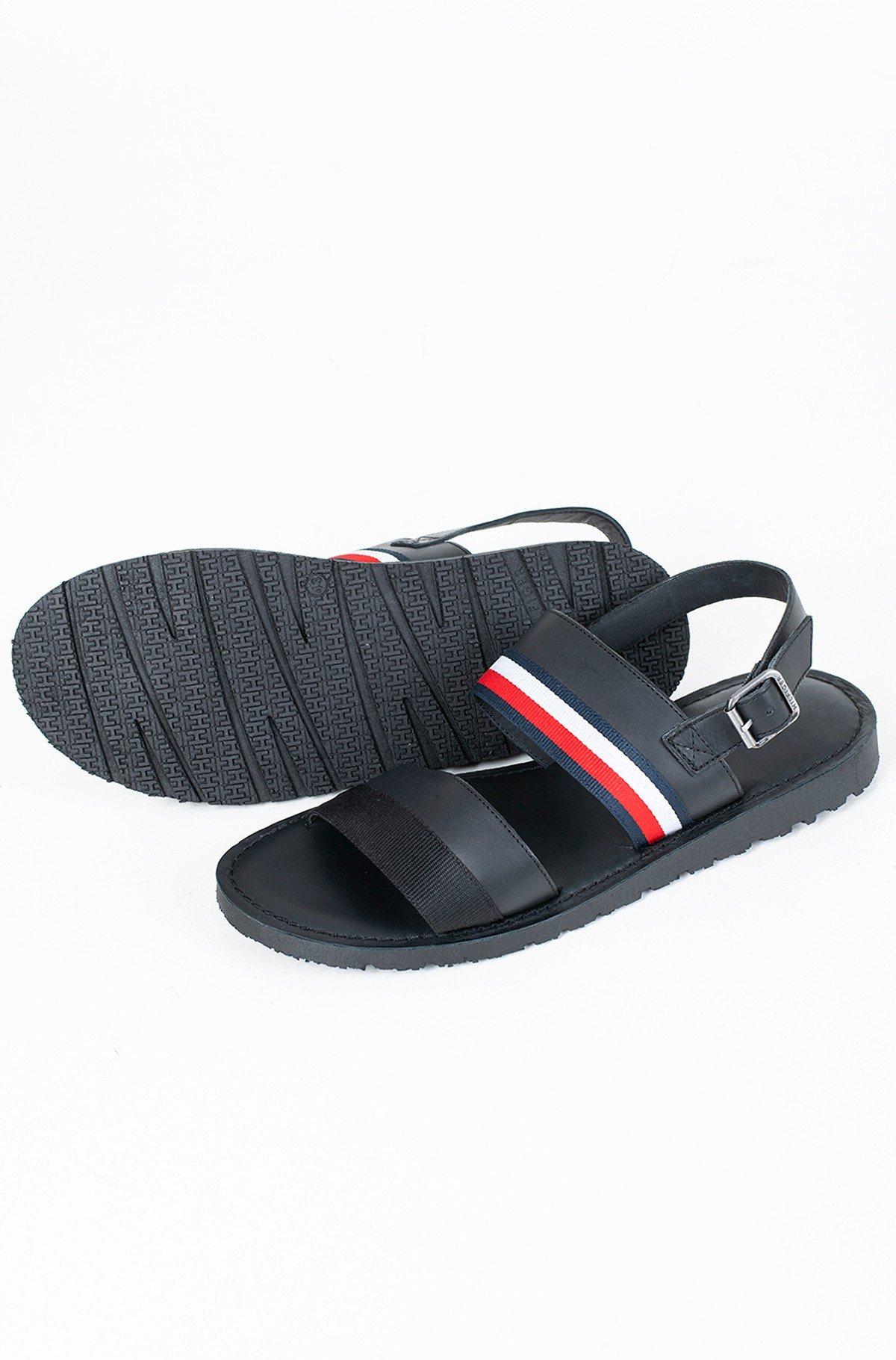 Sandaalid CORPORATE STRAP LEATHER SANDAL-full-1