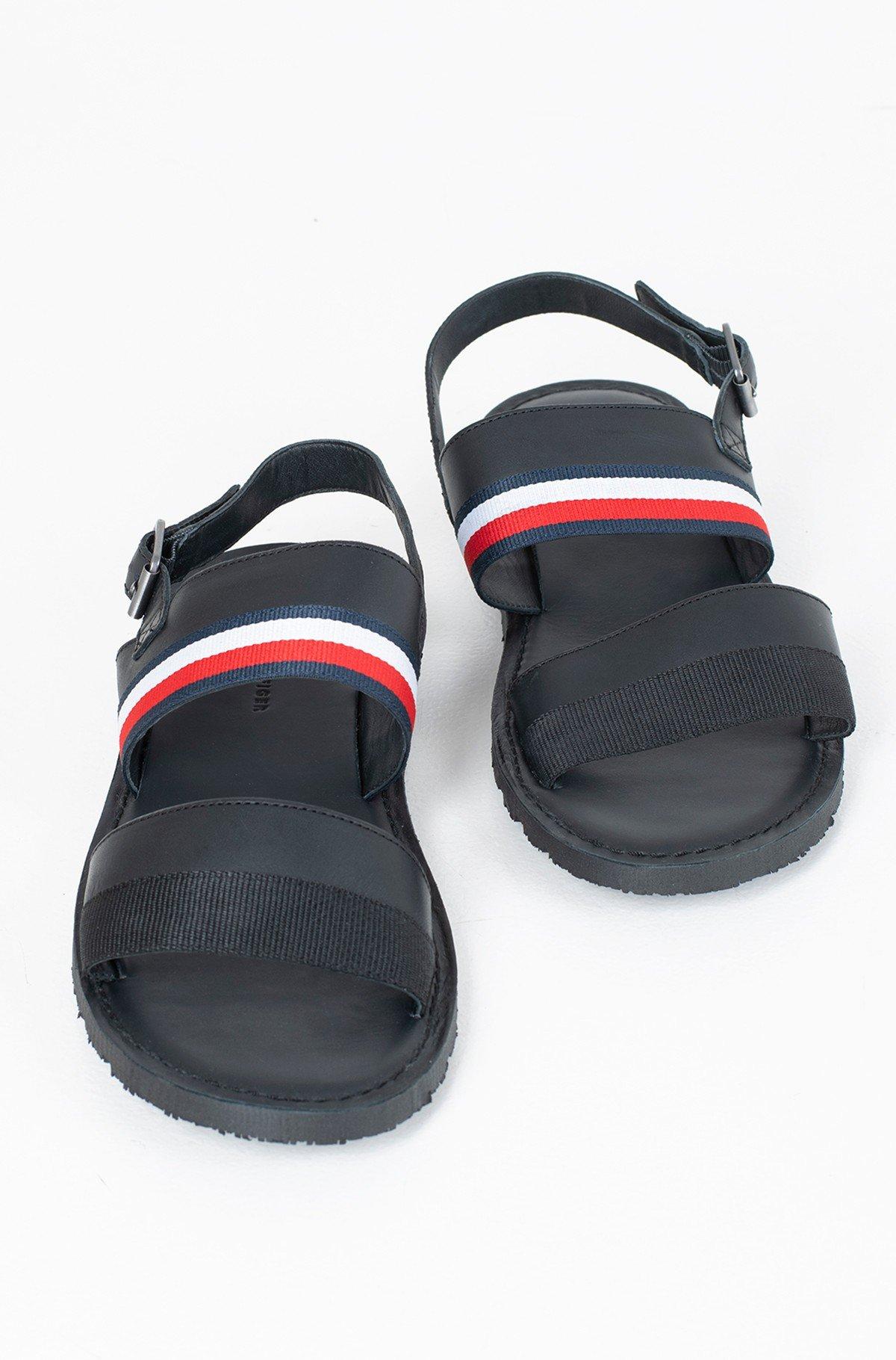 Sandaalid CORPORATE STRAP LEATHER SANDAL-full-2