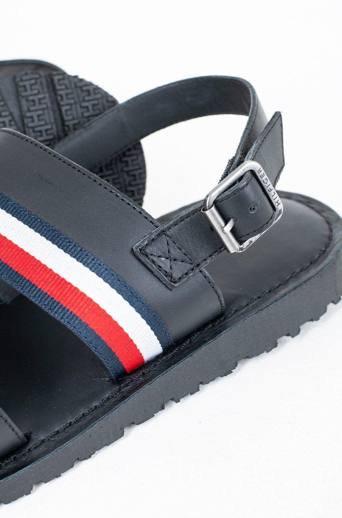Sandaalid CORPORATE STRAP LEATHER SANDAL-full-3