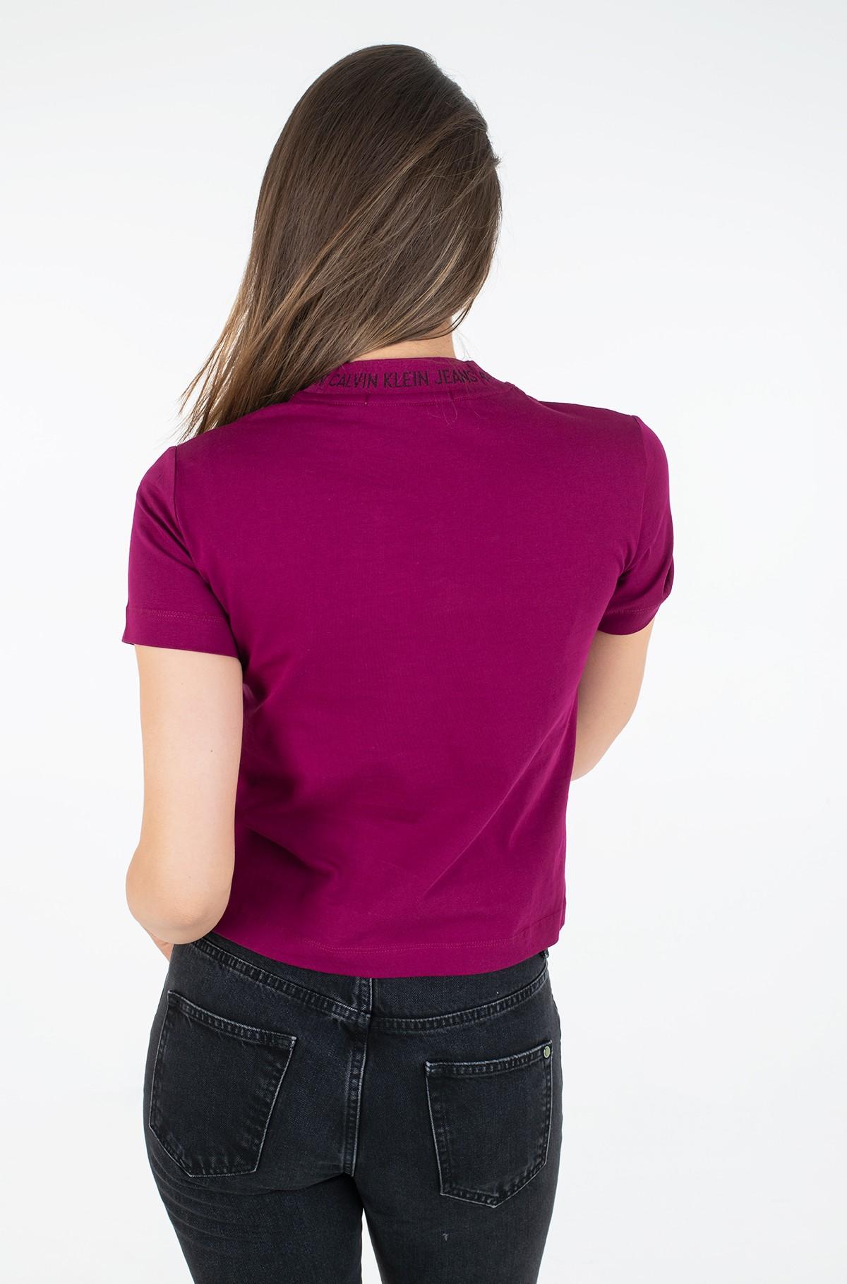 T-shirt LOGO INTARSIA TEE-full-2