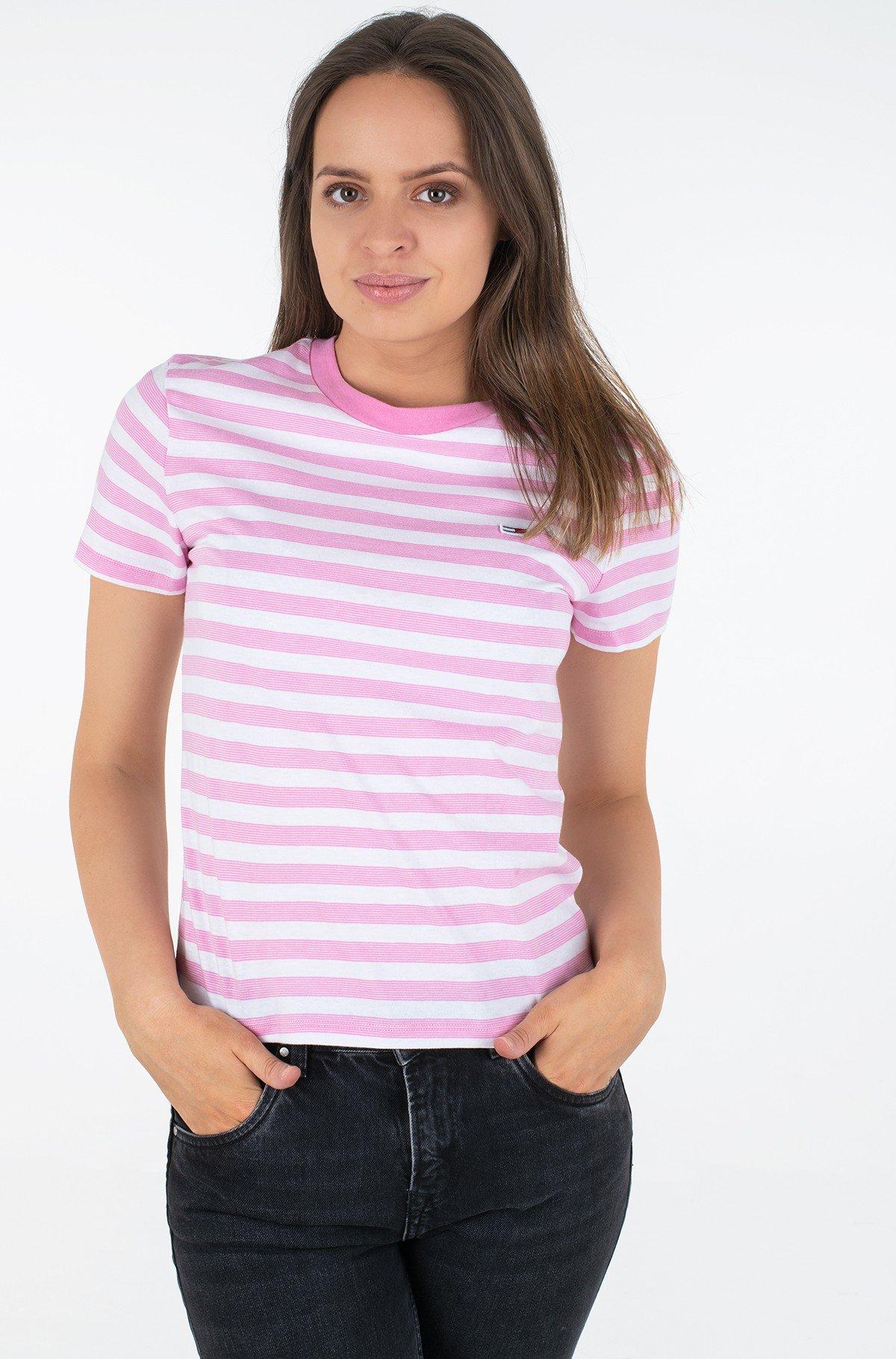 Marškinėliai TJW TOMMY CLASSICS STRIPE TEE-full-1