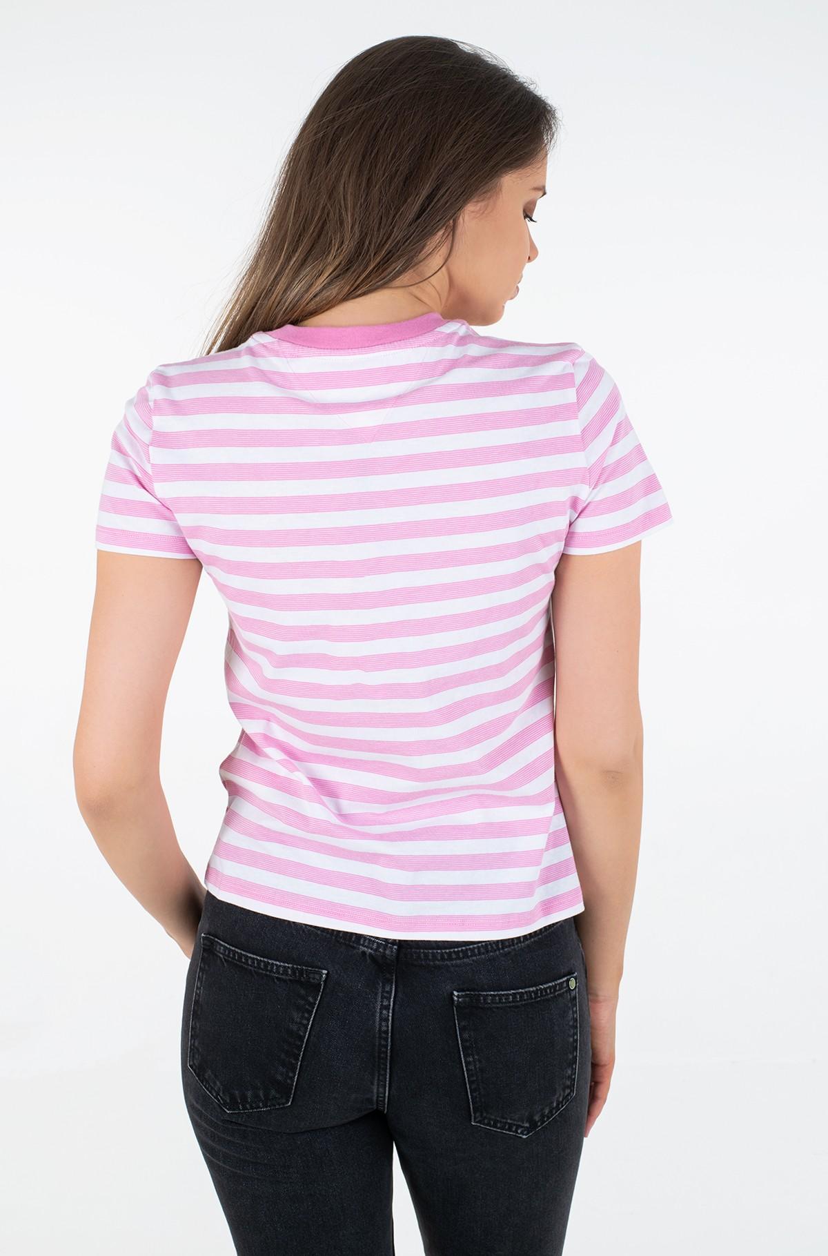 Marškinėliai TJW TOMMY CLASSICS STRIPE TEE-full-2