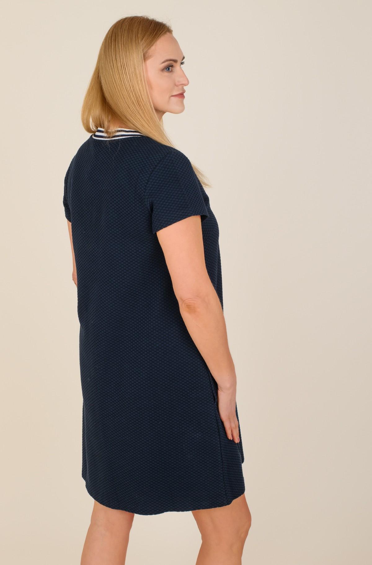 Kleit TEXTURED SHIFT SHORT DRESS SS-full-2