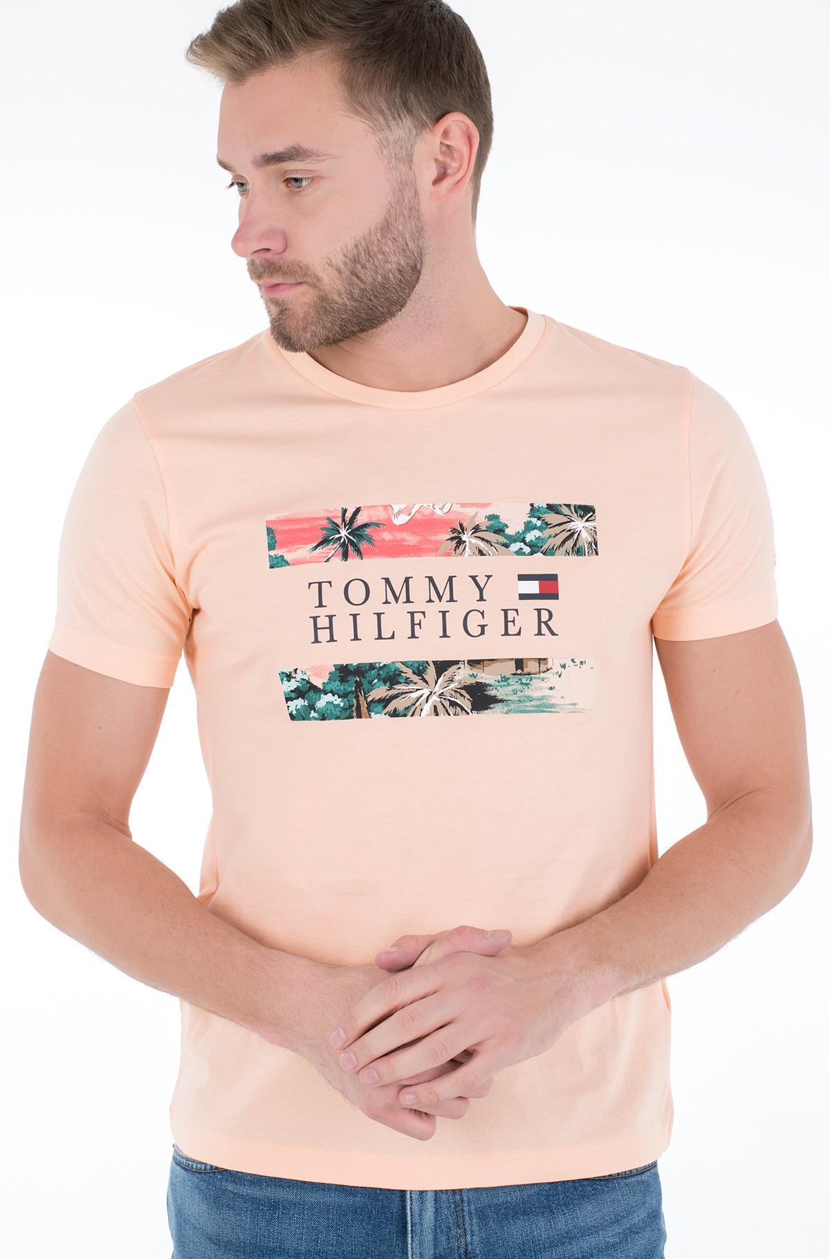 Marškinėliai HAWAIIAN FLAG TEE-full-1