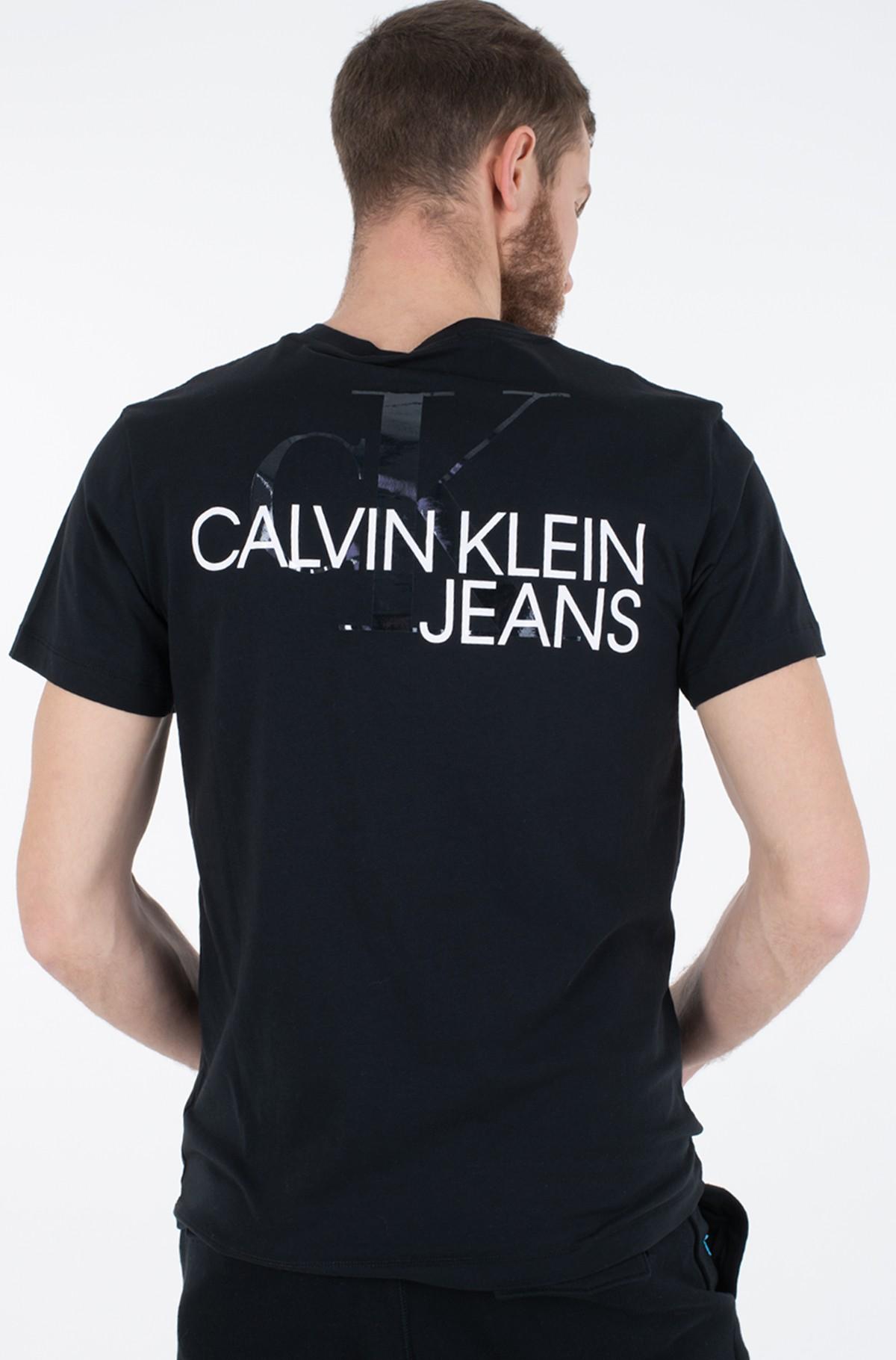 Marškinėliai CK MONOGRAM CLEAR PRINT TEE-full-2
