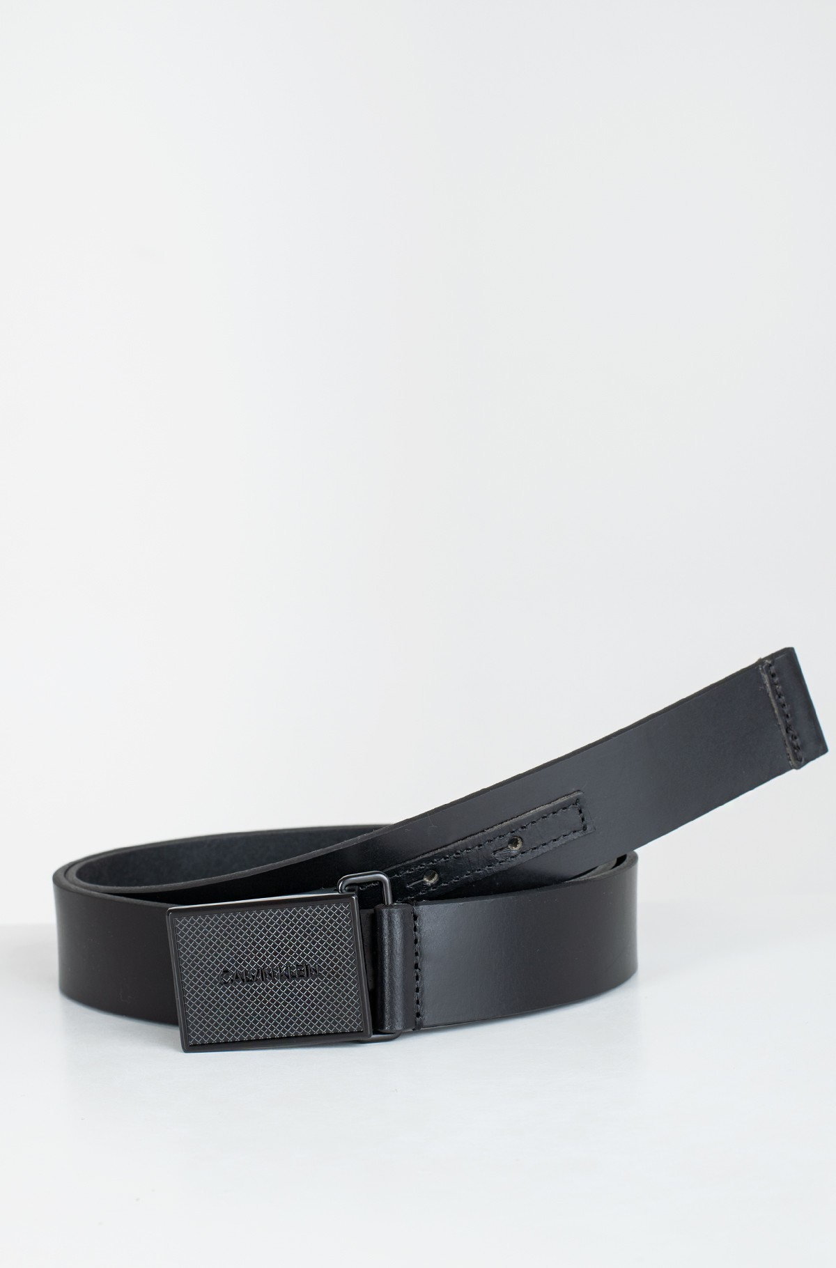 Belt PIQUE METAL PLAQUE TONAL 35MM-full-1