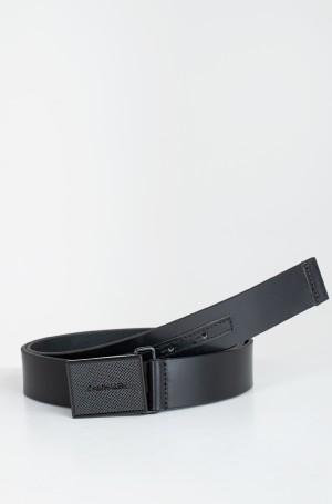Belt PIQUE METAL PLAQUE TONAL 35MM-1