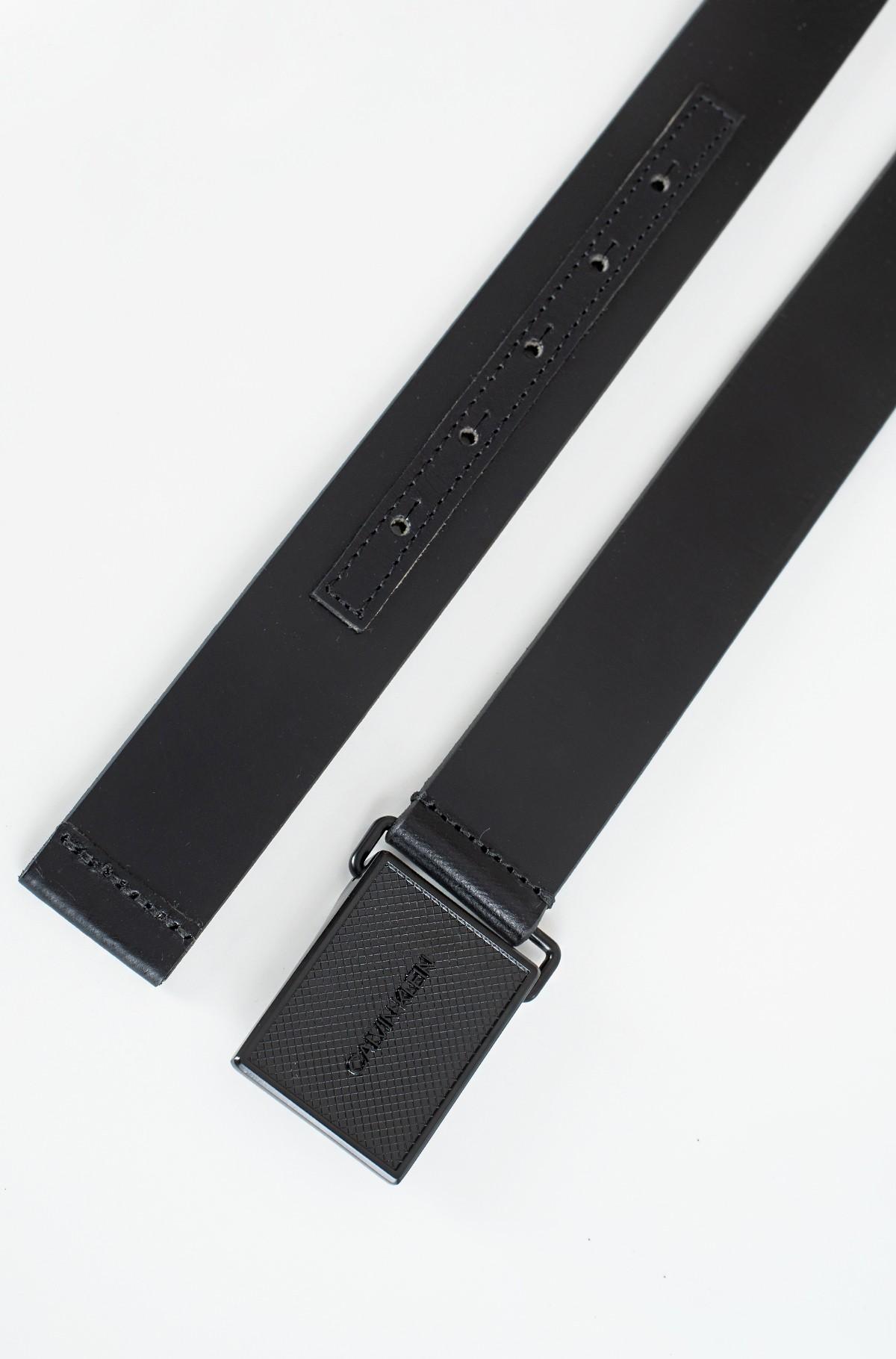 Belt PIQUE METAL PLAQUE TONAL 35MM-full-2