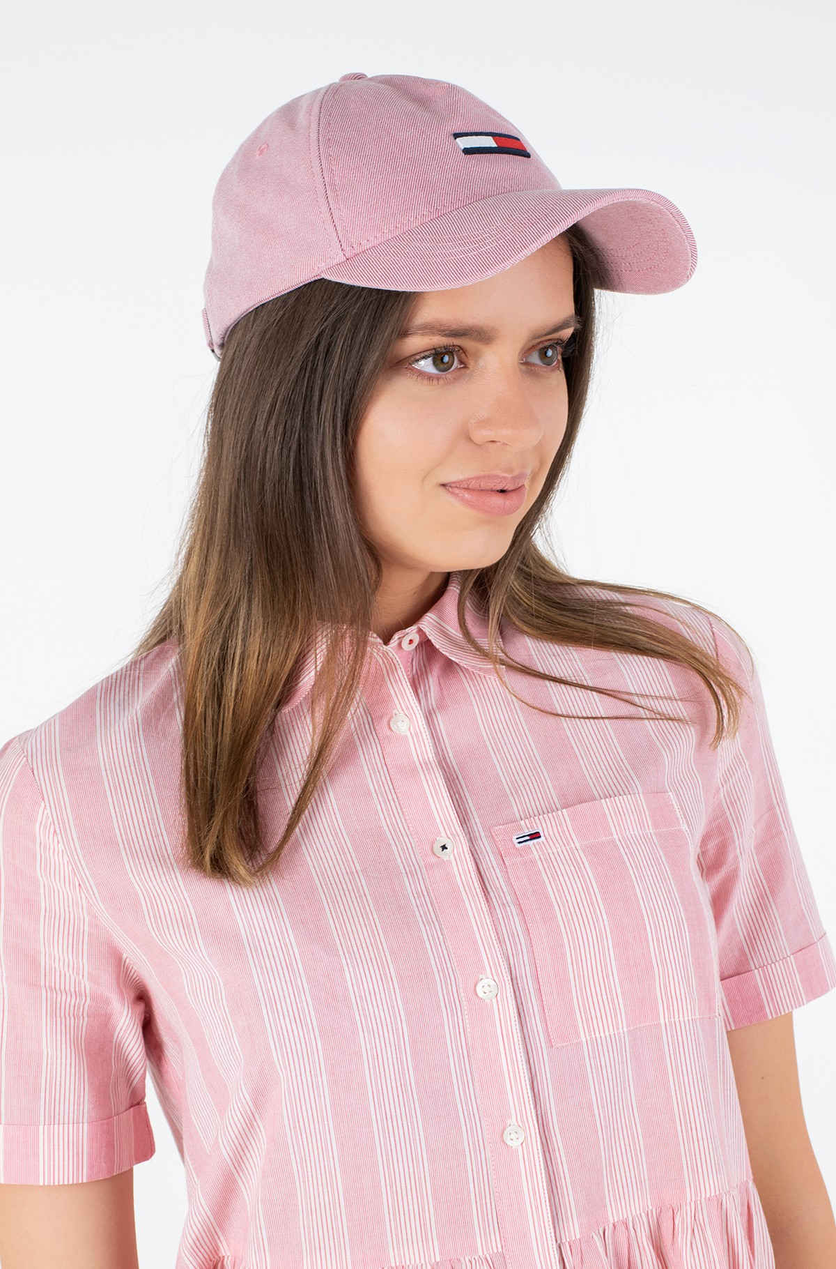 Cepure ar nagu TJW FLAG WASHED DENIM CAP-full-1