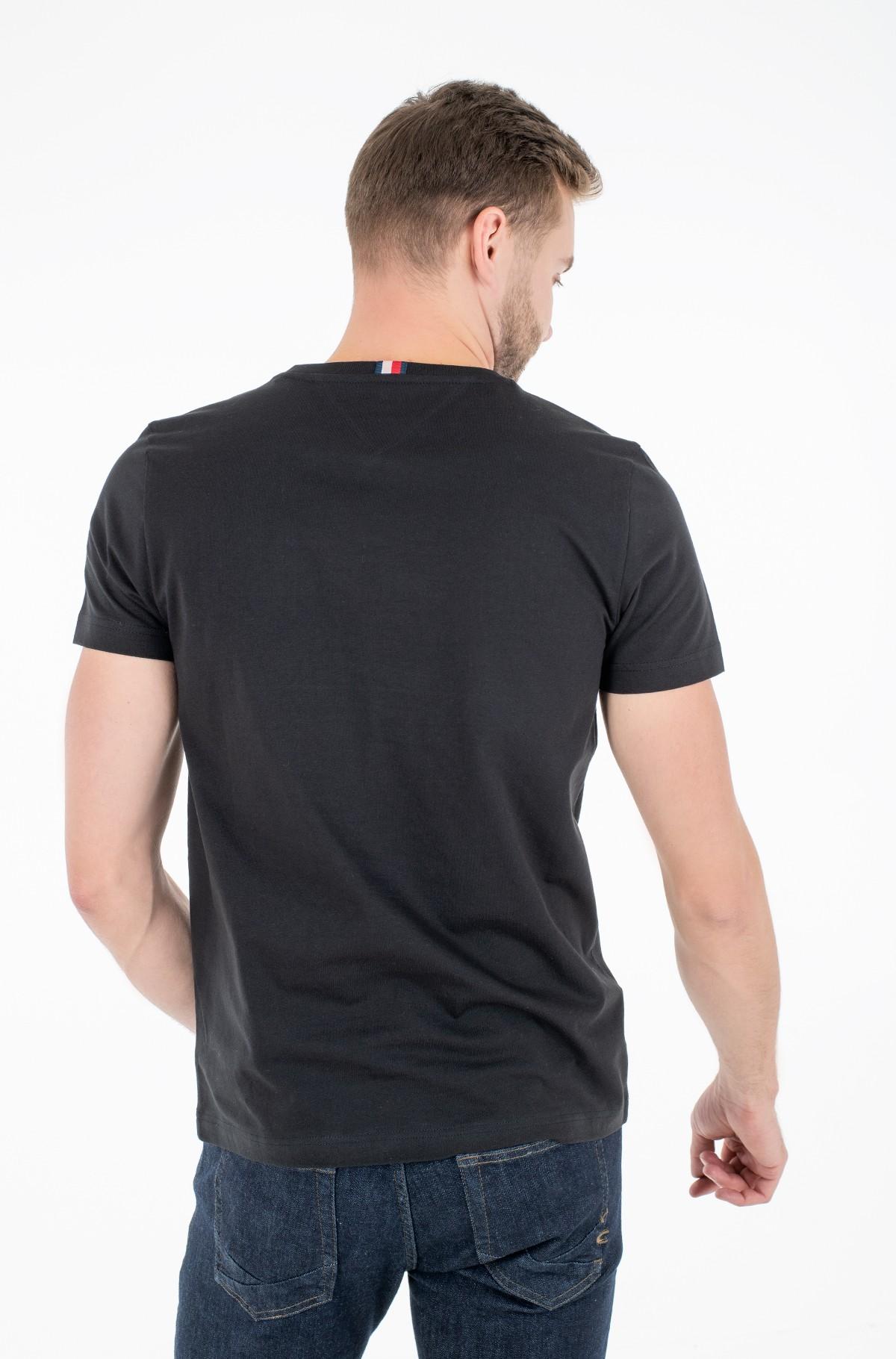 Marškinėliai APPLIQUE NYLON TEE-full-2