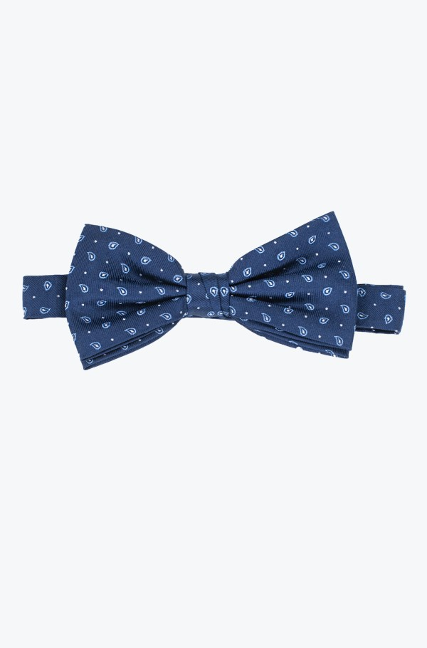 SILK SMALL PAISLEY BOWTIE-hover