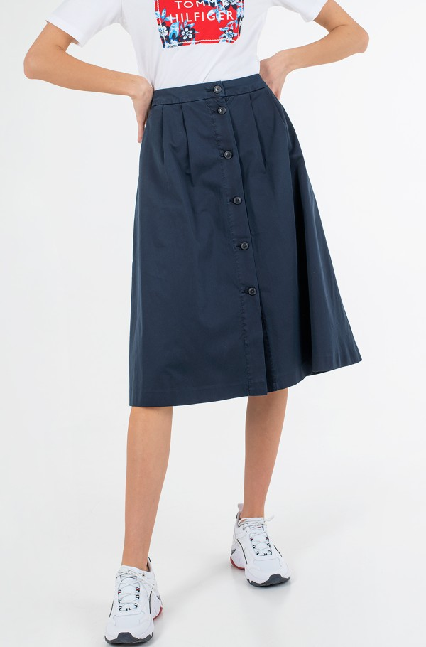 CO MODERN CHINO KNEE SKIRT