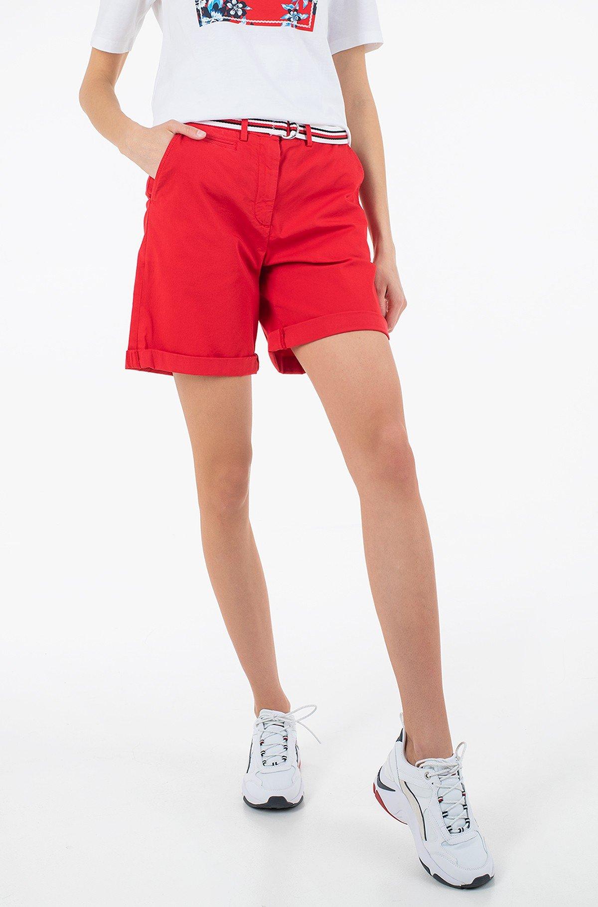 Lühikesed püksid COTTON TENCEL CHINO RW SHORT-full-1