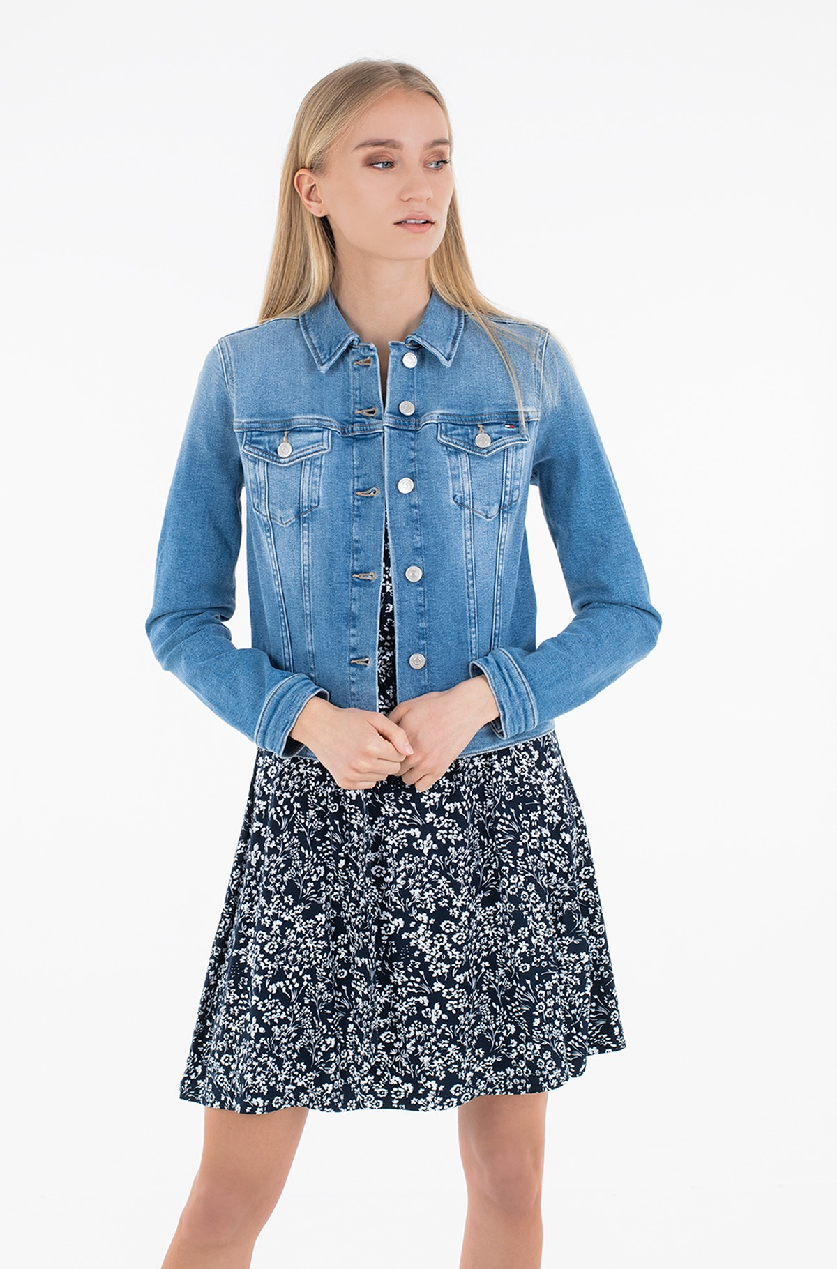 Denim jacket SLIM JACKET JUL-full-1