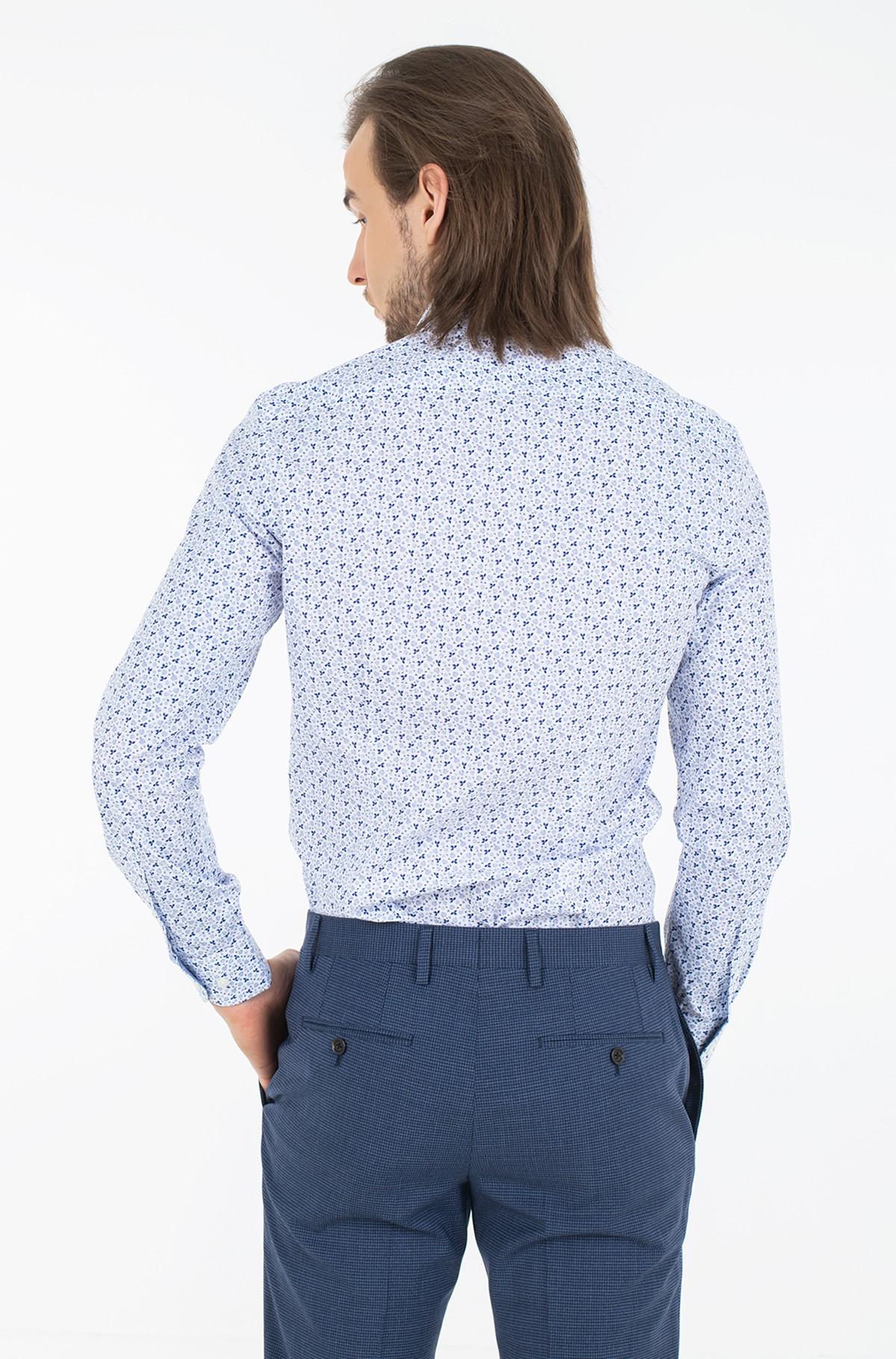 Shirt MINI FLORAL PRINT SLIM SHIRT-full-2
