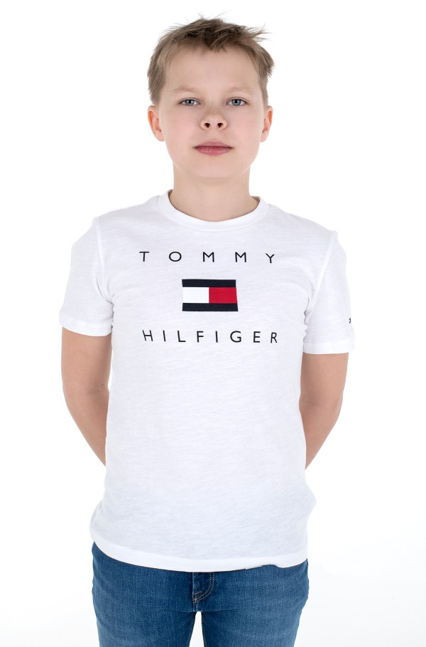 HILFIGER LOGO TEE S/S